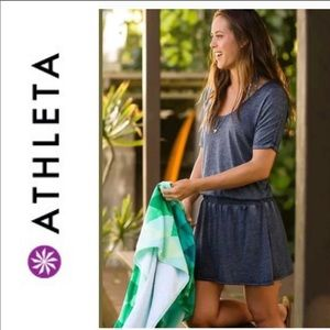 Athleta | Gray Captive T-Shirt Sun Dress